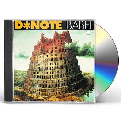 D-Note BABEL CD