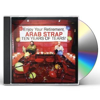 Arab Strap TEN YEARS OF TEARS CD