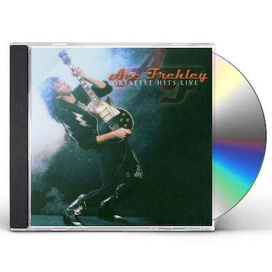 Ace Frehley GREATEST HITS LIVE CD