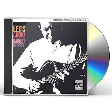 Barney Kessel LET'S COOK CD