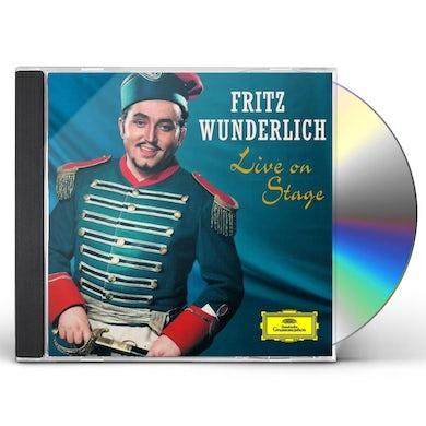 Fritz Wunderlich LIVE ON STAGE CD
