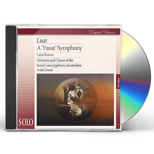Liszt FAUST SYMPHONY CD