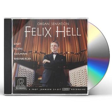 ORGAN SENSATION FELIX HELL CD