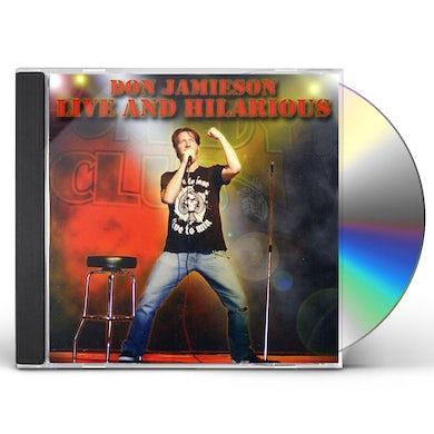 Don Jamieson LIVE & HILARIOUS CD