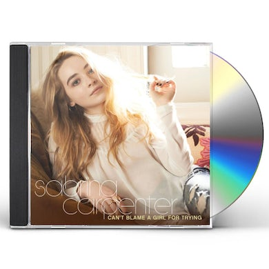 Sabrina Carpenter CAN'T BLAME A GIRL FOR TRYING CD