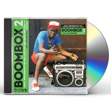 Soul Jazz Records Presents BOOMBOX 2: Early Independent Hip Hop, Electro And Disco Rap 1979-83 CD
