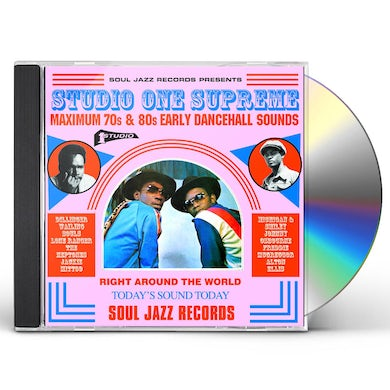 Soul Jazz Records Presents Studio One Supreme: Maximum 70s And 80s Early Dancehall Sounds CD