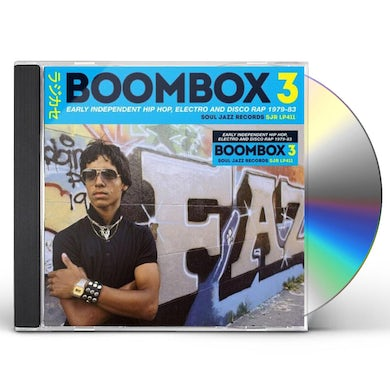 Soul Jazz Records Presents BOOMBOX 3: Early Independent Hip Hop, Electro And Disco Rap 1979-83 CD