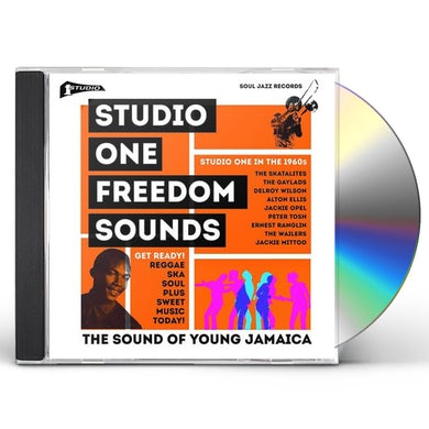 Soul Jazz Records Presents Studio One: Freedom Sounds: Studio One In The 1960s CD