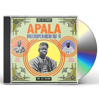 Soul Jazz Records Presents: Apala Group In Nigeria 1967 70 CD