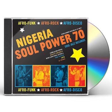 Soul Jazz Records Presents Nigeriasoul power 70:afro funk rock d CD