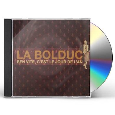 La Bolduc BEN VITE C'EST LE JOUR DE L'AN CD