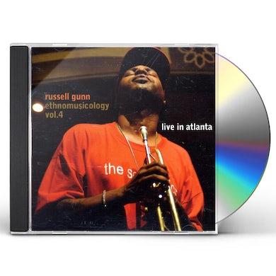 Russell Gunn ETHNOMUSICOLOGY 4: LIVE IN ATLANTA CD