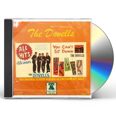 Dovells ALL THE HITS OF THE TEEN GROUPS / YOU CAN'T SIT CD