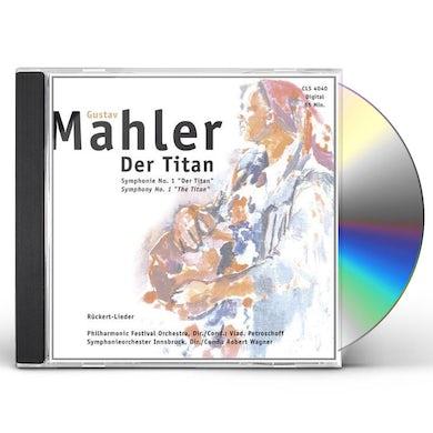 Gustav Mahler DAS TITAN CD