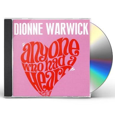 Dionne Warwick ANYONE WHO HAD A HEART CD