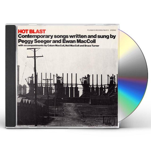 Ewan MacColl HOT BLAST: CONTEMPORARY SONGS CD