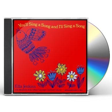 Ella Jenkins YOU'LL SING A SONG & I'LL SING A SONG CD