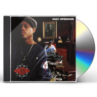 Gang Starr DAILY OPERATION CD