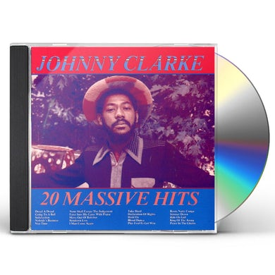 Johnny Clarke 20 MASSIVE HITS CD