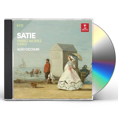 Aldo Ciccolini SATIE: PIANO WORKS (2ND VERSION) MELODIES CD