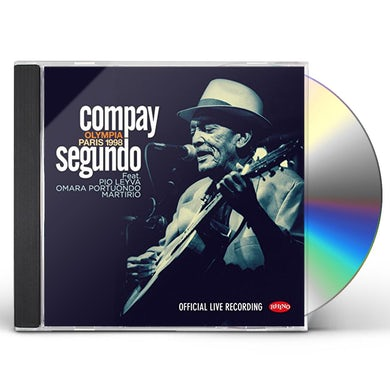 Compay Segundo LIVE OLYMPIA PARIS 1998 CD