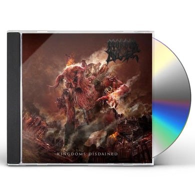 Morbid Angel KINGDOMS DISDAINED CD
