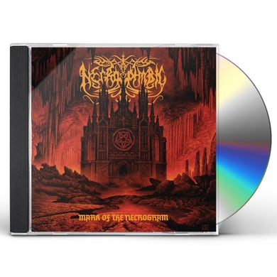Necrophobic MARK OF THE NECROGRAM CD
