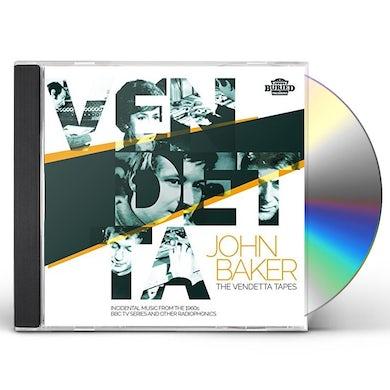 John Baker VENDETTA TAPES CD
