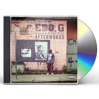 Edo.G. AFTERWORDS CD