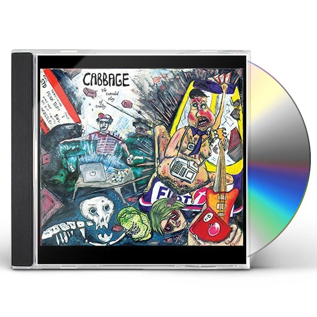 Cabbage EXTENDED PLAY OF CRUELTY CD