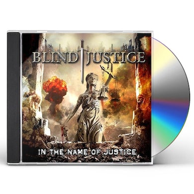 Blind Justice IN THE NAME OF JUSTICE CD