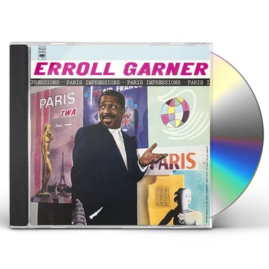 Erroll Garner PARIS IMPRESSIONS CD
