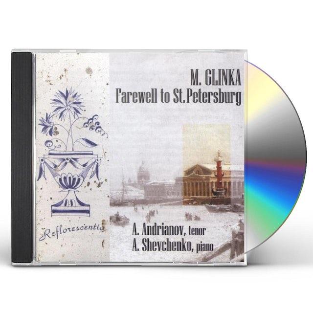 Glinka ROMANCES FAREWELL TO ST PETE CD