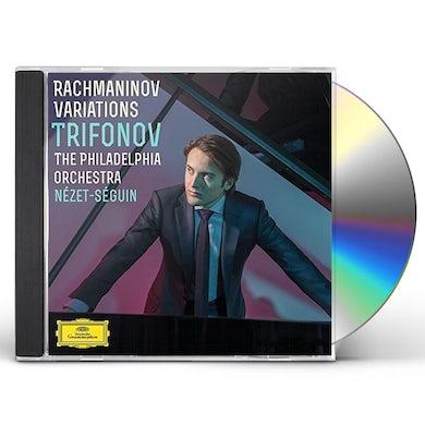 Daniil Trifonov RACHMANINOV VARIATIONS CD