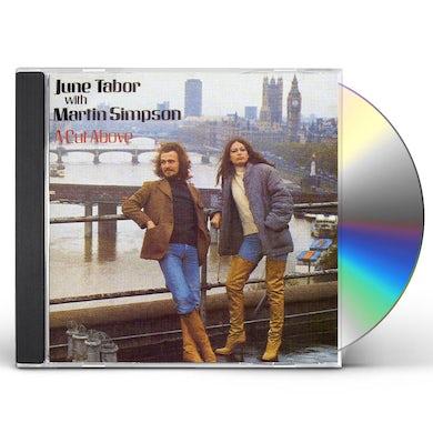 June Tabor CUT ABOVE CD