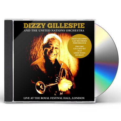 Dizzy Gillespie LIVE AT THE ROYAL FESTIVAL HALL LONDON CD