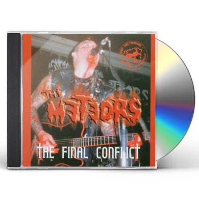 The Meteors FINAL CONFLICT CD