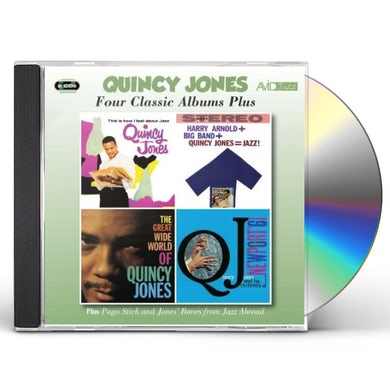 Quincy Jones THIS IS HOW I FEEL CD