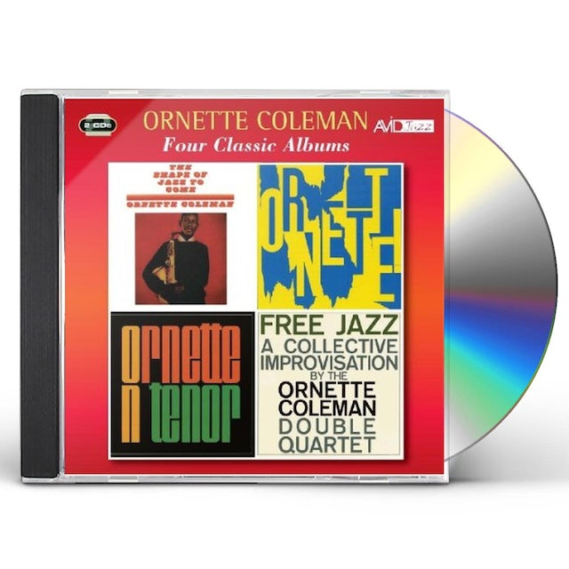 Ornette Coleman SHAPE OF JAZZ TO COME / ORNETTE CD