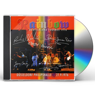 Rainbow LIVE DUSSELDORF PHILLIPSHALLE 27.9.76 CD