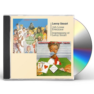 Leroy Smart JAH LOVES EVERYONE + IMPRESSIONS CD