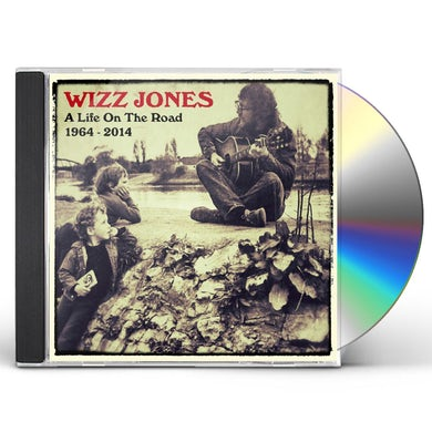Wizz Jones LIFE ON THE ROAD 1964-2014 CD