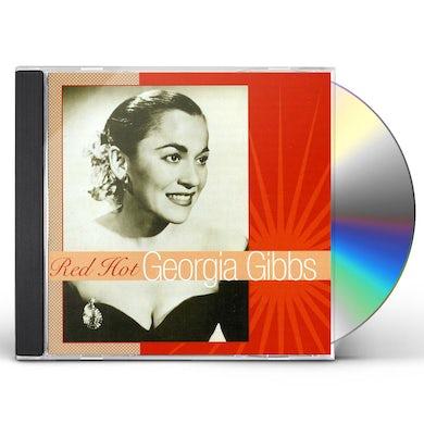 Georgia Gibbs RED HOT CD