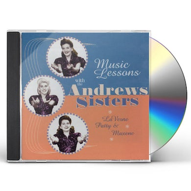 Andrews Sisters MUSIC LESSONS WITH CD