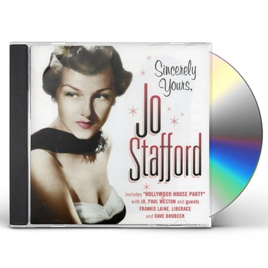 Jo Stafford SINCERLY YOURS CD