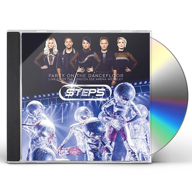 Steps PARTY ON THE DANCEFLOOR: LIVE FROM LONDON SSE CD
