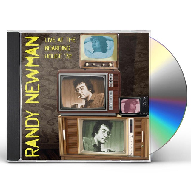 Randy Newman LIVE AT THE BOARDING HOUSE '72 CD