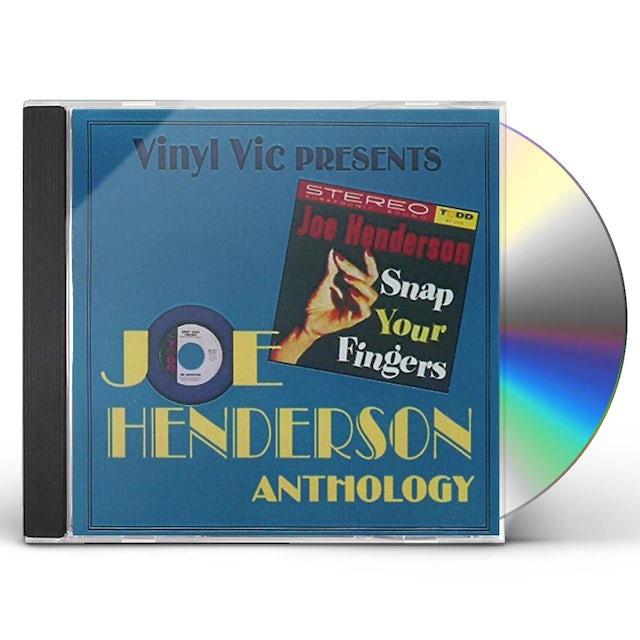 Joe Henderson SNAP YOUR FINGERS / ANTHOLOGY 22 CUTS CD