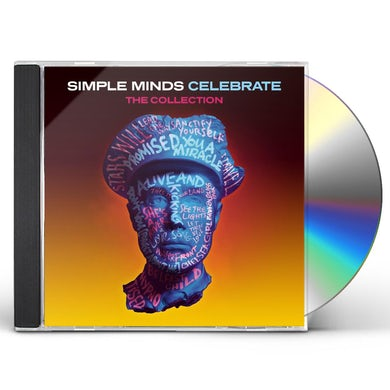 Simple Minds CELEBRATE: THE COLLECTION CD